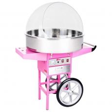 Maszyna do waty cukrowej RCZC-1200XL z wózkiem<br />model: 1133<br />producent: Royal Catering