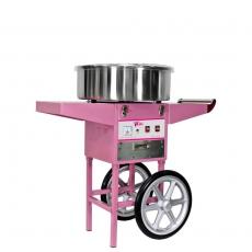 Maszyna do waty cukrowej RCZC-1200-W z wózkiem<br />model: 1138<br />producent: Royal Catering