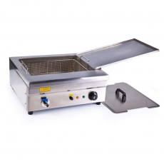 Smażalnik 18L<br />model: 10010122<br />producent: Royal Catering