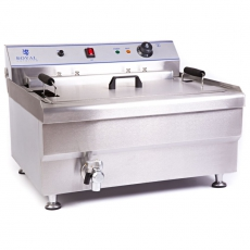 Smażalnik do pączków z półką 30L<br />model: 10010124<br />producent: Royal Catering