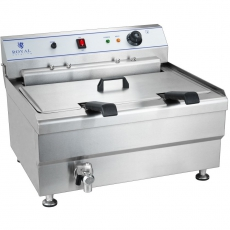 Smażalnik 30L<br />model: 10010126<br />producent: Royal Catering