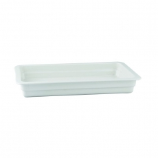 Pojemnik GN 1/1 gł. 6,5 cm porcelanowy biały RAK<br />model: R-BUGN-11065-1<br />producent: Rak
