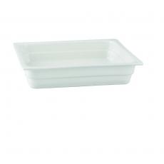 Pojemnik GN 2/3 gł. 2,2 cm porcelanowy biały RAK<br />model: R-BUGN-23022-3<br />producent: Rak
