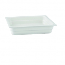 Pojemnik GN 2/3 gł. 6,5 cm porcelanowy biały RAK<br />model: R-BUGN-23065-1<br />producent: Rak
