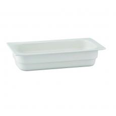 Pojemnik GN 1/3 gł. 6,5 cm porcelanowy biały RAK<br />model: R-BUGN-13065-3<br />producent: Rak