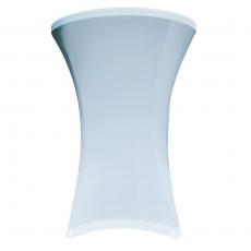 Pokrowiec na stół koktajlowy 80 cm biały<br />model: V-C80-W<br />producent: Verlo