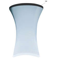 Top na stół koktajlowy 80 cm biały<br />model: V-N80-W<br />producent: Verlo