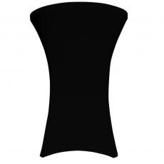 Pokrowiec na stół koktajlowy 80 cm czarny<br />model: V-C80-K<br />producent: Verlo