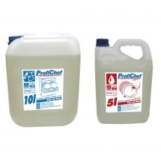 Zestaw płynów do obsługi zmywarek gastronomicznych - mały | ProfiChef<br />model: PCC-01/010+PCC-02/005<br />producent: M&M Gastro
