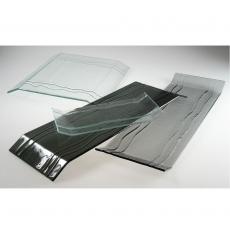 Taca szklana do prezentacji Bridge czarna<br />model: 291039<br />producent: Dajar