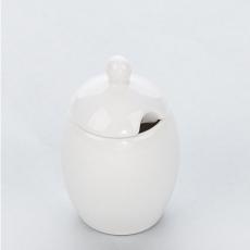 Pojemnik na musztardę porcelanowy APULIA<br />model: 394418<br />producent: Stalgast