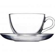 Filiżanka do cappuccino ze spodkiem<br />model: 400256<br />producent: Pasabahce