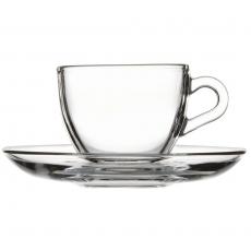 Filiżanka do espresso ze spodkiem<br />model: 400257<br />producent: Pasabahce