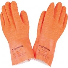 Rękawice ochronne lateksowe<br />model: 505021<br />producent: Stalgast