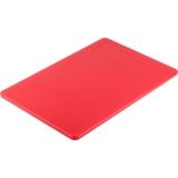 Deska z polietylenu HACCP czerwona 341451