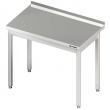Stół roboczy nierdzewny bez półki 611066