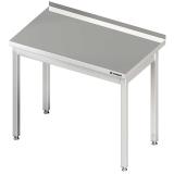 Stół roboczy nierdzewny bez półki 611106