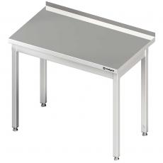 Stół roboczy nierdzewny składany<br />model: 611127<br />producent: Stalgast