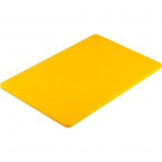 Deska z polietylenu HACCP żółta<br />model: 341453<br />producent: Stalgast