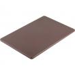 Deska z polietylenu HACCP brązowa 341456