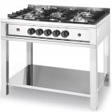 Kuchnia gastronomiczna gazowa 5-palnikowa Kitchen Line 225806