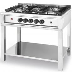 Kuchnia gastronomiczna gazowa 5-palnikowa Kitchen Line<br />model: 225806<br />producent: Hendi