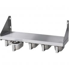 Półka z pojemnikami na przyprawy<br />model: 815500<br />producent: Stalgast