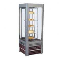 Szafa chłodnicza cukiernicza ANTILA z półkami szklanymi<br />model: SCA Antila 02/obr.<br />producent: Es System K