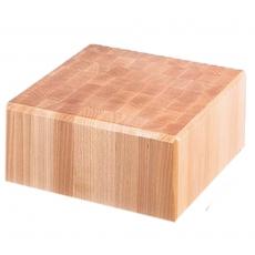 Blat drewniany do kloca masarskiego<br />model: 684510<br />producent: Stalgast