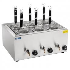 Urządzenie do gotowania makaronu, makaroniarka RCNK-6<br />model: 10010235<br />producent: Royal Catering