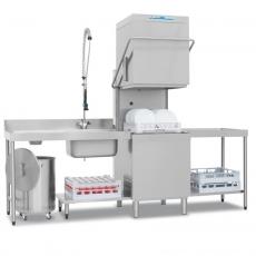 Zmywarka gastronomiczna do naczyń kapturowa z pompą odpływu NT-100P<br />model: 00010238<br />producent: RM Gastro