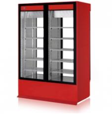 Szafa chłodnicza przeszklona przelotowa<br />model: SCh-2S 1200/1D<br />producent: Rapa