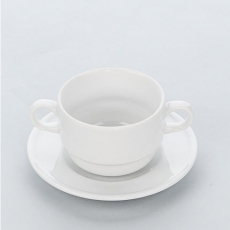 Spodek do bulionówki porcelanowej APULIA<br />model: 395340<br />producent: Stalgast