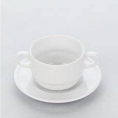 Spodek do filiżanki porcelanowej APULIA<br />model: 395342<br />producent: Stalgast