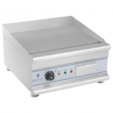 Płyta grillowa elektryczna 50 cm<br />model: 10010065<br />producent: Royal Catering