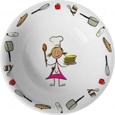 Miseczka porcelanowa przedszkolna na zupę<br />model: 395952<br />producent: Stalgast