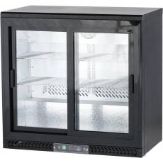 Chłodziarka do butelek z drzwiami suwanymi<br />model: 882161<br />producent: Stalgast