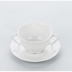 Spodek do bulionówki/filiżanki porcelanowej PRATO<br />model: 395740<br />producent: Karolina