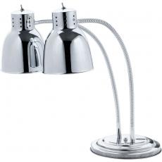 Lampa grzewcza do potraw podwójna<br />model: 692410<br />producent: Stalgast