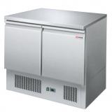 Stół chłodniczy 2-drzwiowy z agregatem na dole 00001407