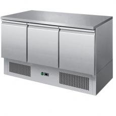 Stół chłodniczy 3-drzwiowy z agregatem na dole SCH-3<br />model: 00010902<br />producent: Redfox