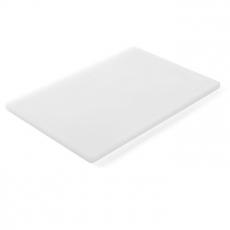 Deska z polietylenu HACCP biała<br />model: 825518<br />producent: Hendi