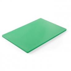 Deska z polietylenu HACCP zielona<br />model: 825549<br />producent: Hendi