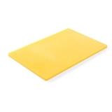 Deska z polietylenu HACCP żółta 825655