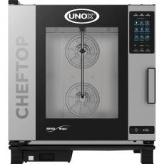 Piec konwekcyjno-parowy elektryczny ChefTop 6 GN 2/1 PLUS<br />model: 9010665<br />producent: Unox