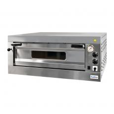 Piec do pizzy 1-komorowy - poj. 4x35cm ProfiChef PCI-02001<br />model: PCI-02001<br />producent: ProfiChef