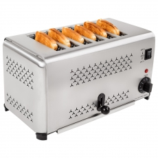 Opiekacz elektryczny - toster RCET-6<br />model: 1265<br />producent: Royal Catering