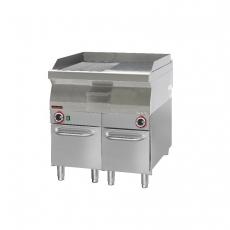 Płyta grillowa gazowa 700.PBG-800GR-C<br />model: 700.PBG-800GR-C.A<br />producent: Kromet