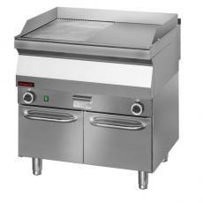 Płyta grillowa gazowa 700.PBG-800GR-C<br />model: 700.PBG-800GR-C/W<br />producent: Kromet
