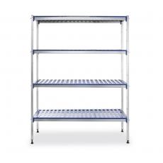 Regał magazynowy aluminiowy<br />model: 812273<br />producent: Hendi